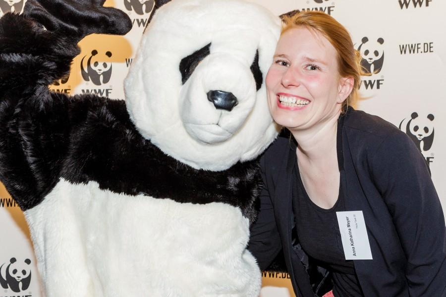 Anna Meyer spricht bei der WWF Night 2015 über nachhaltigen Konsum