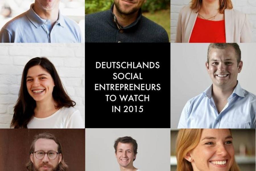 Nicht nur ein Start-up, sondern eine ganze Reihe inspirierender Menschen, v…