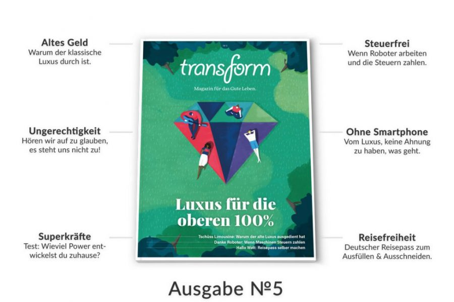 TT30 meets transform Magazin