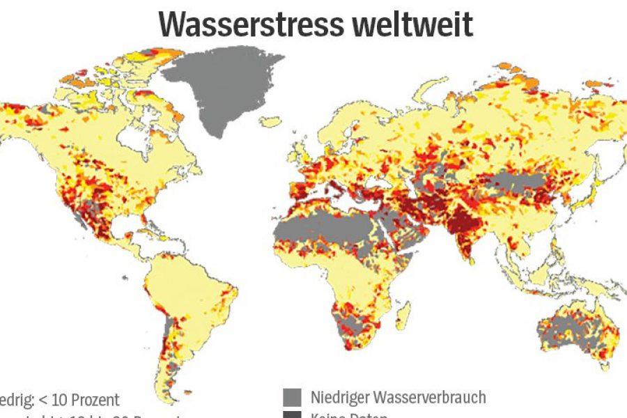 Risiko-Atlas: Einem Viertel der Weltbevölkerung droht Wasserknappheit – SPI…